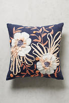 Anthropologie Embroidered Samia Pillow