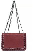 Jessica Simpson Zamia Velvet Whip-Stitched Convertible Cross-Body Bag