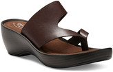 Eastland Women's Sandals BROWN - Brown Laurel Leather Heeled Sandal - Women
