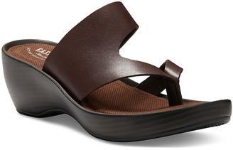 Eastland Women's Sandals BROWN - Brown Laurel Leather Heeled Sandal - Women