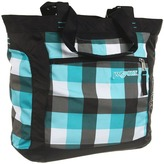 JanSport Ella Tote (Blinded Blue Block Check) - Bags and Luggage