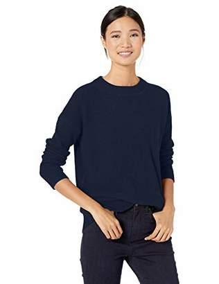 Goodthreads Wool Blend Thermal Stitch Crewneck Sweater Pullover,L