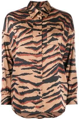 Liu Jo tiger-print slim shirt