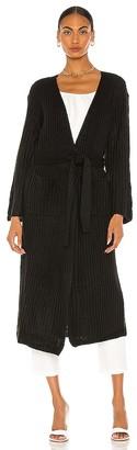 L'Academie Kimono Belted Wrap Cardigan