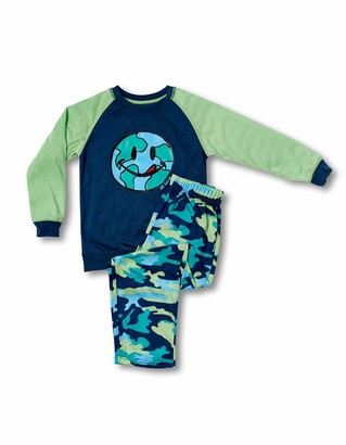 Joe Boxer Big Boy's Camo Tee/Pant Set Sleepwear