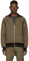 Public School Green and Black Clifton Track Jacket