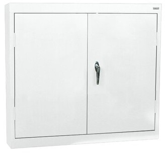 Wall 2 Door Storage Cabinet Sandusky Cabinets Finish: White