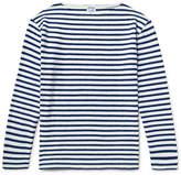 orSlow Striped Slub Cotton-jersey T-shirt