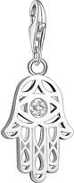 Thomas Sabo Hand of Fatima sterling silver and diamond charm