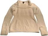 Escada Ecru Wool Knitwear for Women
