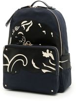 Valentino Tattoo Camouflage Backpack