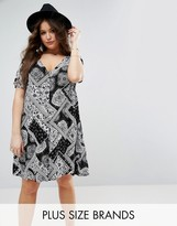 Alice & You Paisley Patchwork Tea Dress