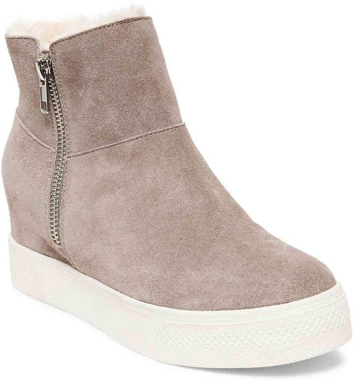 2dd0e0bbf6 Taupe And Black Wedge Sneakers - ShopStyle