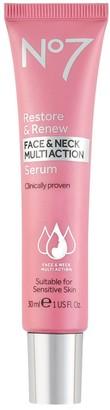 No7 Restore & Renew Face & Neck Multi Serum