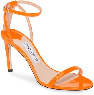 Jimmy Choo Minny Neon Patent Sandal