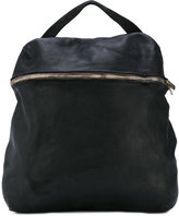 Guidi front double zip backpack - women - Horse Leather - One Size