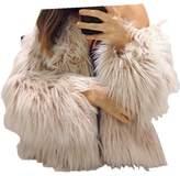 Flank New Ladies Womens Warm Faux Fur Fox Coat Jacket (S, )