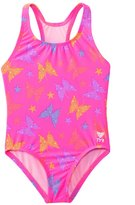 TYR Girls' Flutter Maxfit One Piece Swimsuit (2T12yrs) - 8136982