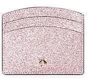 Kate Spade Women's Burgess Glitter Leather Card Holder