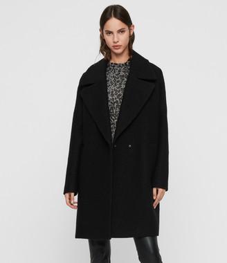 AllSaints Jetta Wool Coat
