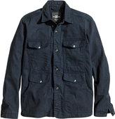 H&M - Shirt Jacket - Dark blue - Men
