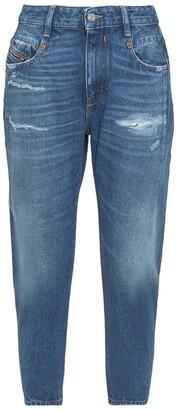 Diesel D-Fayza Cropped Jeans