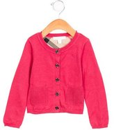 Burberry Girls' Knit Button-Up Cardigan