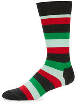Happy Socks Striped Crew Socks