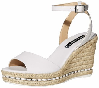 Karl Lagerfeld Paris Women's Wedge Sandal Platform