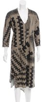 Zero Maria Cornejo Lulu Printed Dress w/ Tags