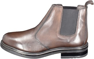 Curito® Curito Barking Men's Smooth Leather Chelsea Boots - Brown