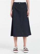 Stretch Denim Skirt - ShopStyle