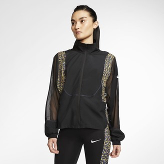 Nike Women's Running Jacket Icon Clash