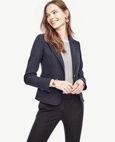 Ann Taylor Petite Single Button Blazer