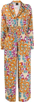 Pinko Floral Print Jumpsuit