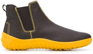 Car Shoe Contrast Ankle Boots