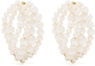 COMPLETEDWORKS Cove pearl earrings