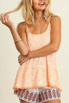 American Fit Sleeveless Marled Top