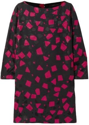 Marc Jacobs Printed Crepe Mini Dress