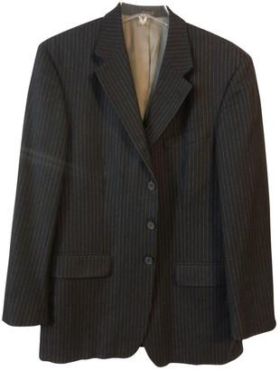 Oscar de la Renta \N Blue Wool Suits