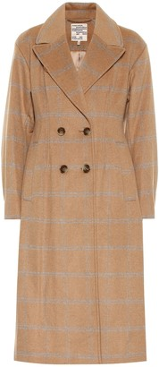 Baum und Pferdgarten Destiny checked wool-blend coat