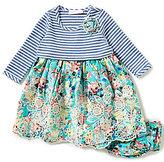 Bonnie Jean Bonnie Baby Baby Girls 12-24 Months Embroidered Dress