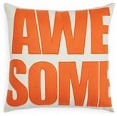 "Alexandra Ferguson Awesome Decorative Pillow, 16"" x 16"""