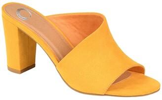 Journee Collection Comfort Foamtm Allea Slide (Animal) Women's Shoes