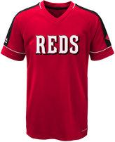 Majestic Boys' Cincinnati Reds Lead Hitter T-Shirt
