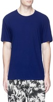 Attachment Cotton jersey T-shirt