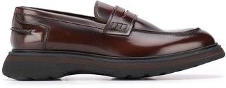 Doucal's Glossed Loafers