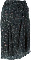 Isabel Marant Twen skirt - women - Silk/Spandex/Elastane - 34