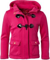 Pink Platinum Girls' Fleece Jackets BERRY - Berry Toggle Lightweight Fleece Jacket - Infant, Toddler & Girls