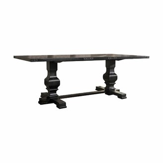 Ophelia & Co. Jaclyn Double Pedestal Dining Table & Co.